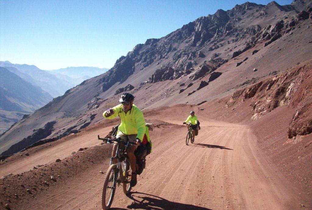 El Cruce de los Andes en bici