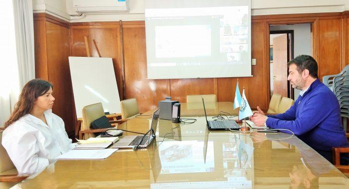 Presentaron los estudios de prefactibilidad para la construcción del paso internacional Las Leñas