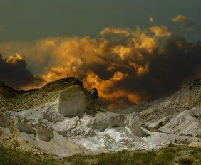 Cerro Siete Colores, Uspallata