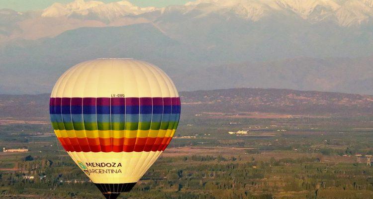Volar en globo en Junín